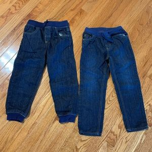 Lots of 2 Toddler Boys Jeans Size 5T